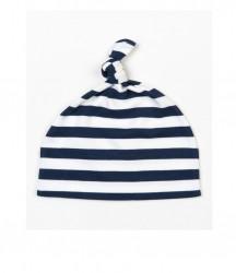 Image 4 of BabyBugz Baby Stripy Knotted Hat