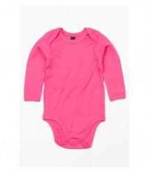 Image 3 of BabyBugz Baby Organic Long Sleeve Bodysuit