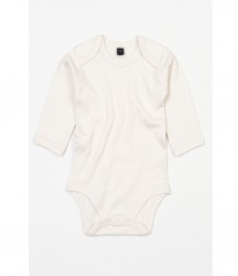 Image 4 of BabyBugz Baby Organic Long Sleeve Bodysuit