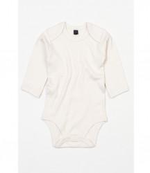 Image 7 of BabyBugz Baby Organic Long Sleeve Bodysuit