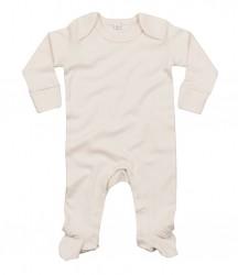 Image 2 of BabyBugz Baby Organic Sleepsuit with Mitts