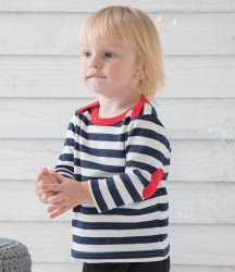 Image 1 of BabyBugz Baby Long Sleeve Stripy T-Shirt