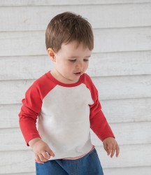 BabyBugz Baby Long Sleeve Baseball T-Shirt image