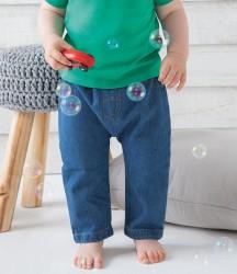 Image 1 of BabyBugz Baby Rocks Denim Trousers