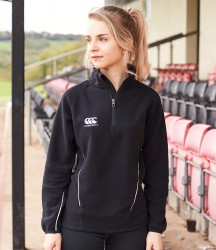 Canterbury Ladies Team Zip Neck Micro Fleece image