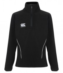 Image 2 of Canterbury Ladies Team Zip Neck Micro Fleece