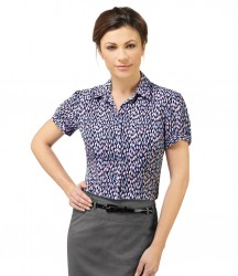 Skopes Petals Printed Short Sleeve Blouse image