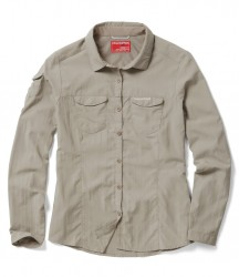 Craghoppers Ladies NosiLife Adventure Long Sleeve Shirt image