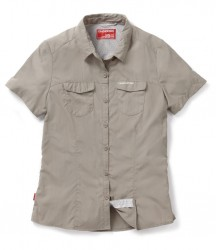 Craghoppers Ladies NosiLife Adventure Short Sleeve Shirt image
