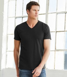 Canvas Unisex Jersey V Neck T-Shirt image