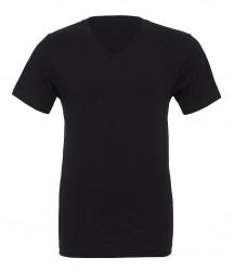 Image 2 of Canvas Unisex Jersey V Neck T-Shirt