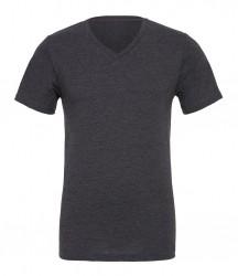 Image 4 of Canvas Unisex Jersey V Neck T-Shirt