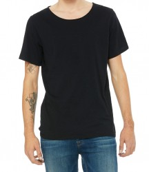Image 2 of Canvas Unisex Raw Neck T-Shirt