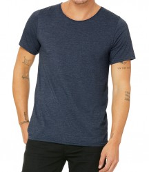 Image 4 of Canvas Unisex Raw Neck T-Shirt