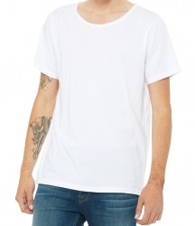 Image 6 of Canvas Unisex Raw Neck T-Shirt