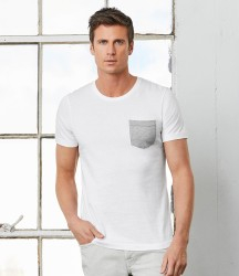 Canvas Contrast Pocket T-Shirt image