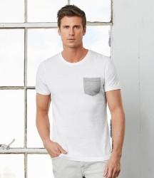 Canvas Contrast Pocket T-Shirt image