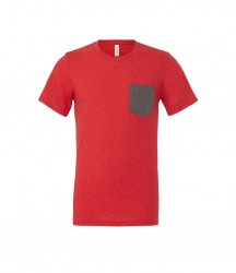 Image 5 of Canvas Contrast Pocket T-Shirt