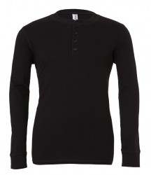 Canvas Long Sleeve Henley T-Shirt image