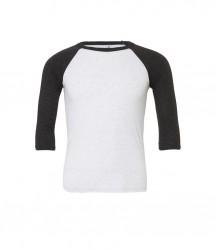 Image 6 of Canvas Unisex 3/4 Sleeve Baseball T-Shirt