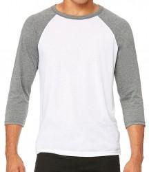 Image 11 of Canvas Unisex 3/4 Sleeve Baseball T-Shirt