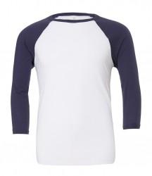 Image 15 of Canvas Unisex 3/4 Sleeve Baseball T-Shirt