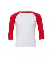 Image 16 of Canvas Unisex 3/4 Sleeve Baseball T-Shirt