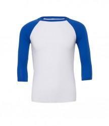 Image 17 of Canvas Unisex 3/4 Sleeve Baseball T-Shirt