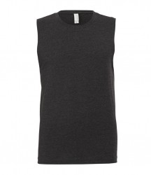 Image 3 of Canvas Jersey Muscle Tank Top