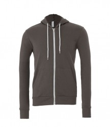 Image 2 of Canvas Unisex Full Zip Hoodie