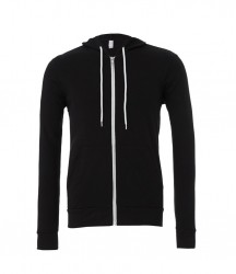 Image 3 of Canvas Unisex Full Zip Hoodie