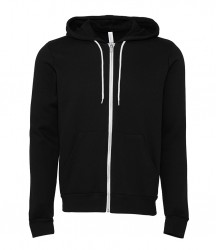 Image 4 of Canvas Unisex Full Zip Hoodie