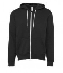 Image 5 of Canvas Unisex Full Zip Hoodie