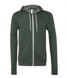 Image 8 of Canvas Unisex Full Zip Hoodie