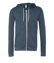 Image 9 of Canvas Unisex Full Zip Hoodie