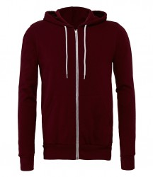 Image 10 of Canvas Unisex Full Zip Hoodie