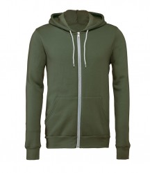 Image 11 of Canvas Unisex Full Zip Hoodie