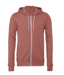 Image 12 of Canvas Unisex Full Zip Hoodie