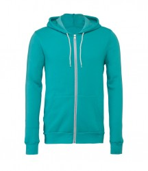 Image 19 of Canvas Unisex Full Zip Hoodie