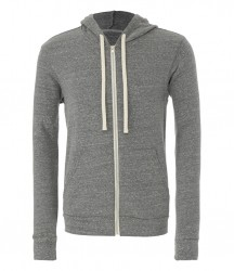 Image 5 of Canvas Unisex Tri-Blend Full Zip Hoodie