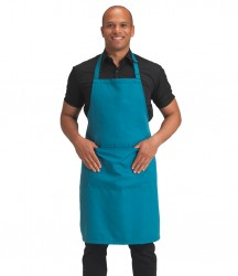 Dennys Polyester Bib Apron with Pocket image