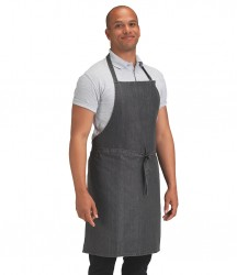 Dennys Cross Dyed Denim Bib Apron image