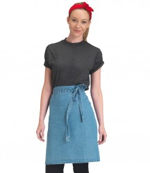 Dennys Cross Dyed Denim Waist Apron image