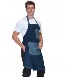Dennys Heavyweight Denim Pocket Bib Apron image