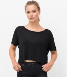Ecologie Ladies Daintree EcoViscose Cropped T-Shirt image