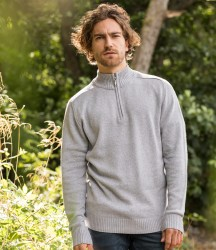 Ecologie Wakhan Zip Neck Sweater image