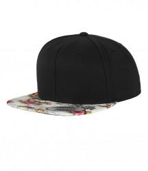 Image 2 of Flexfit Floral Snapback Cap