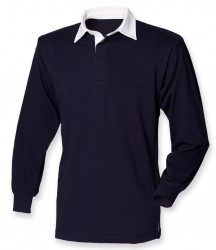 Image 8 of Front Row Classic Rugby Shirt