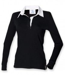Image 2 of Front Row Ladies Classic Rugby Shirt