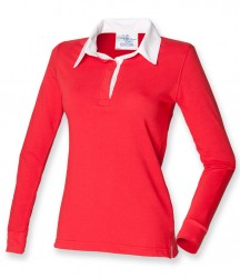 Image 5 of Front Row Ladies Classic Rugby Shirt